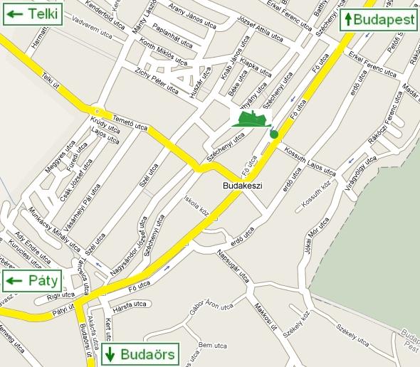 budakeszi térkép Budakeszi Ingatlan Centrum budakeszi térkép